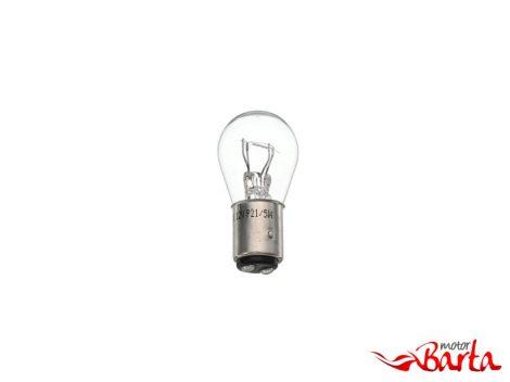 Izzó féklámpához 12V 21/5W fehér BAY15D