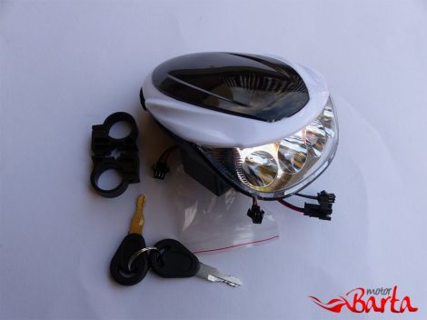 Lámpa első LED  kpl. 48V
